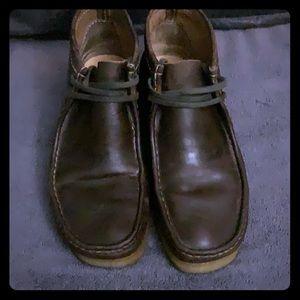 Clarks Originals Mens Leather Wallabee Chucka Boot